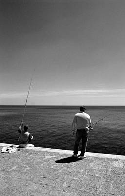 Photograph - Fishing by Luis Esteves