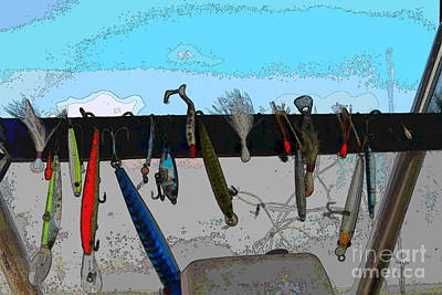 Fishing Boats Photograph - Fishing Lures by Cathy Lindsey