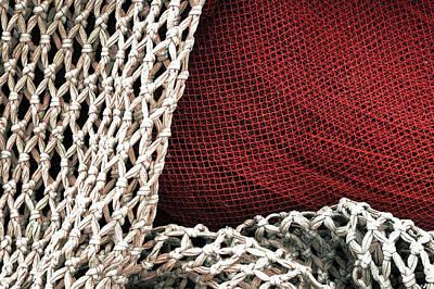 Mess Photograph - Fishing Net by Mikel Martinez de Osaba