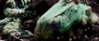 Photograph - Fishing Net Mindscape by Wayne King