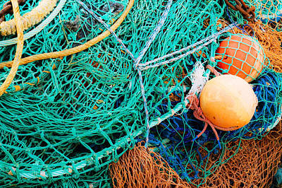 Photograph - Fishing Nets And Floats by Jane McIlroy