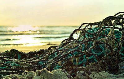 Photograph - Fishing Nets At Sea by Gynt