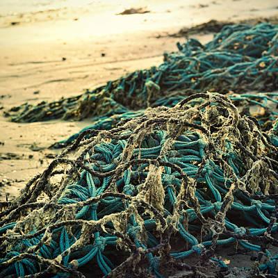 Fishing Photograph - Fishing Nets by Gynt