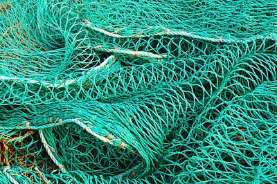 Photograph - Fishing Nets by Jane McIlroy