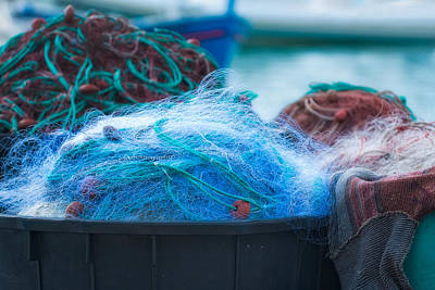 Photograph - Fishing Nets by Joan Herwig