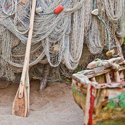 Photograph - Fishing Nets by Renee Sullivan