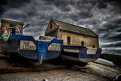 Lizard Photograph - Fishing Off The Lizard by Martin Newman