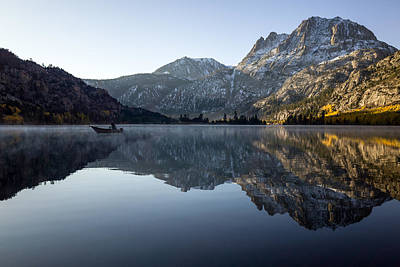 Aspen Photograph - Fishing On Silver Lake  by Priya Ghose