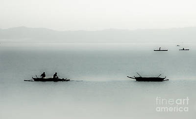 Fishing On The Philippine Sea   Art Print