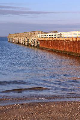 Photograph - Fishing Pier 2 by Bob Slitzan