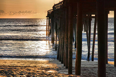 Fishing Pier IIi Art Print by Steven Ainsworth