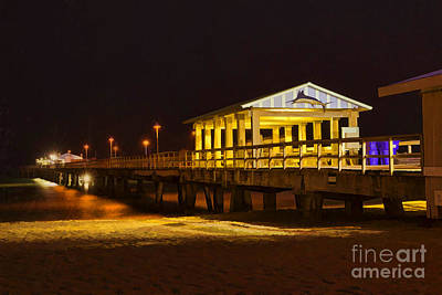 Photograph - Fishing Pier In Lauderdale By The Sea by Les Palenik