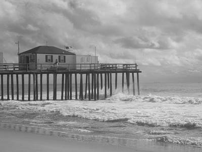Photograph - Fishing Pier by Joe  Burns