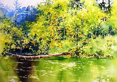 Fishing Pond Art Print