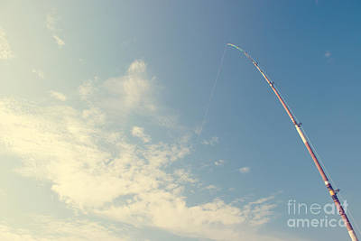 Photograph - Fishing Rod by Yew Kwang