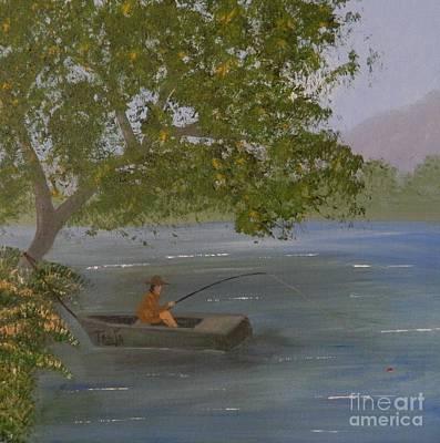 Painting - Fishing Spot by Tanja Beaver