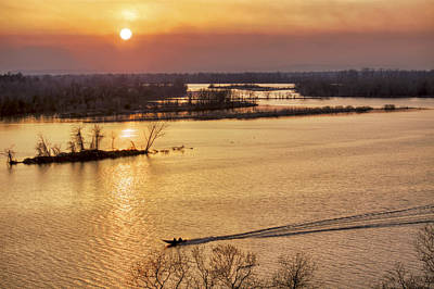 Photograph - Fishing The Arkansas River by Jason Politte