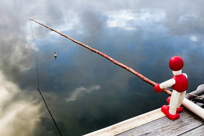 Photograph - Fishing by Tony Grider