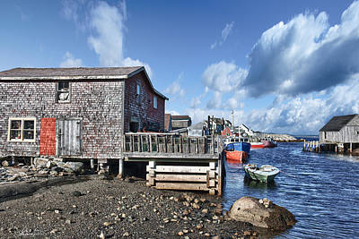 Photograph - Fishing Town by Renee Sullivan