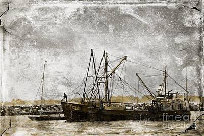 Photograph - Fishing Trawler by Marcia Lee Jones