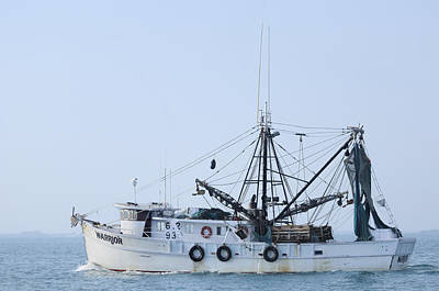Photograph - Fishing Trawler Warrior by Bradford Martin