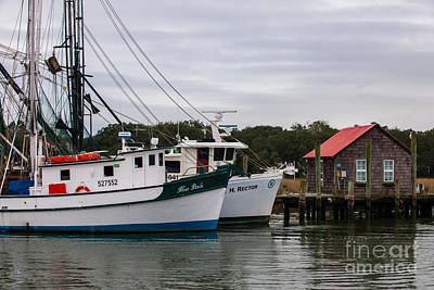 Photograph - Fishing Trawlers by Dale Powell