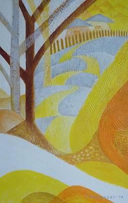 Painting - Fishing Trip-pt.1 by Hemu Aggarwal
