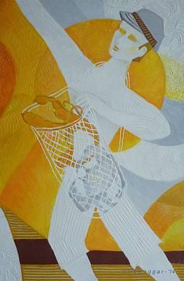 Painting - Fishing Trip-pt.3 by Hemu Aggarwal