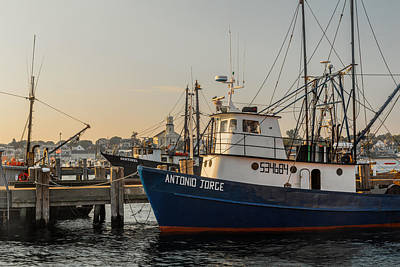 Provincetown Ma Photograph - Fishing Village by Bill Wakeley