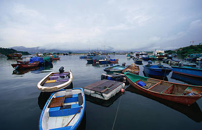 Photograph - Fishing Village In Sam Mum Chai, New by Oliver Strewe
