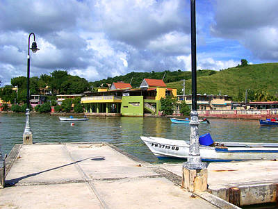Fishing Village Puerto Rico Art Print