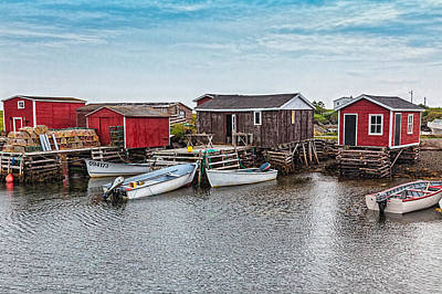 Photograph - Fishing Wharf by Perla Copernik