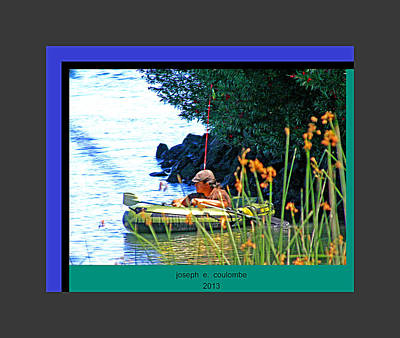 Photograph - Fishn My Way by Joseph Coulombe