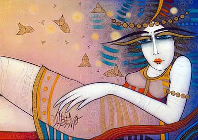 Fish'n'dreams Art Print by Albena Vatcheva