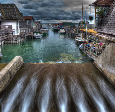 Fishtown In Leland Art Print by Twenty Two North Photography