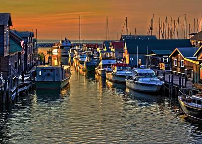 Photograph - Old Fishtown - Leland Michigan by Ron Grafe