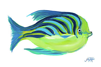 Fishy Digital Art - Fishy I by Julie Derice