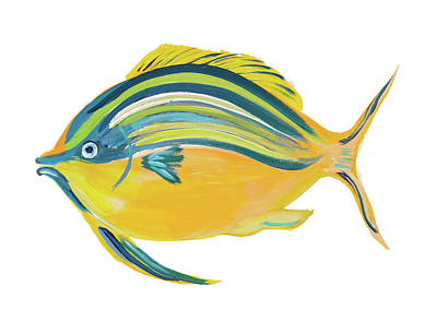 Fishy Digital Art - Fishy IIi by Julie Derice