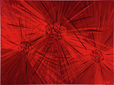 Fission II Art Print by Rick Roth