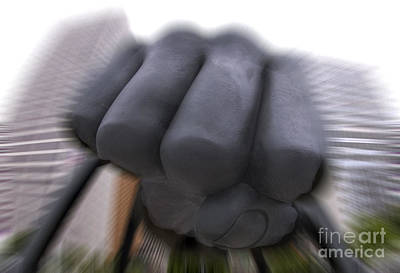 Photograph - Fist In Motion by Steven Dunn