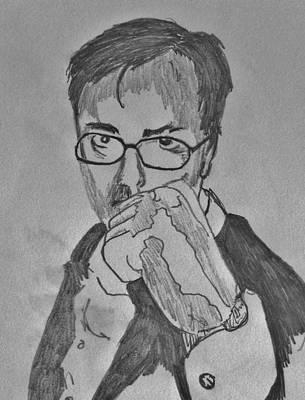 Fist Of Fury Art Print by Mark Greenhalgh