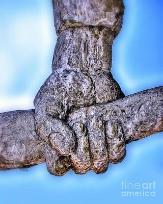Photograph - Fisted Concrete Grip by Patrick Witz