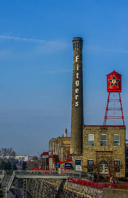 Duluth Photograph - Fitgers Hotel And Brewery by Paul Freidlund
