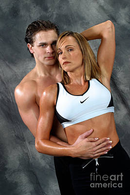 Fitness Couple 27 Print by Gary Gingrich Galleries