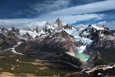 Mountains Photograph - Fitz Roy by Andrew Waddington