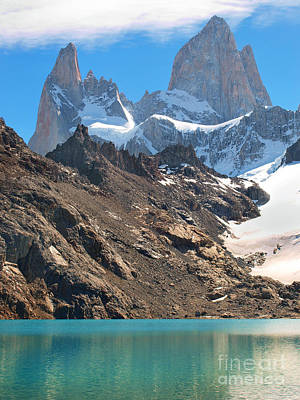 Photograph - Fitz Roy In Patagonia by JR Photography