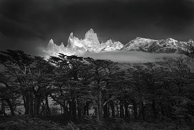 South America Wall Art - Photograph - Fitz Roy by Lucian Constantin