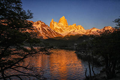 Fitz Roy Massif Art Print by Gary Hall