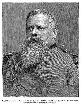 Democrat Painting - Fitzhugh Lee (1835-1905) by Granger