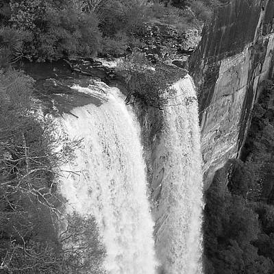 Photograph - Fitzroy Falls And Cliffs by Cheryl Miller